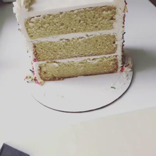 #Repost O que você acha dessa maneira de cortar o bolo? Parece-nos um ...