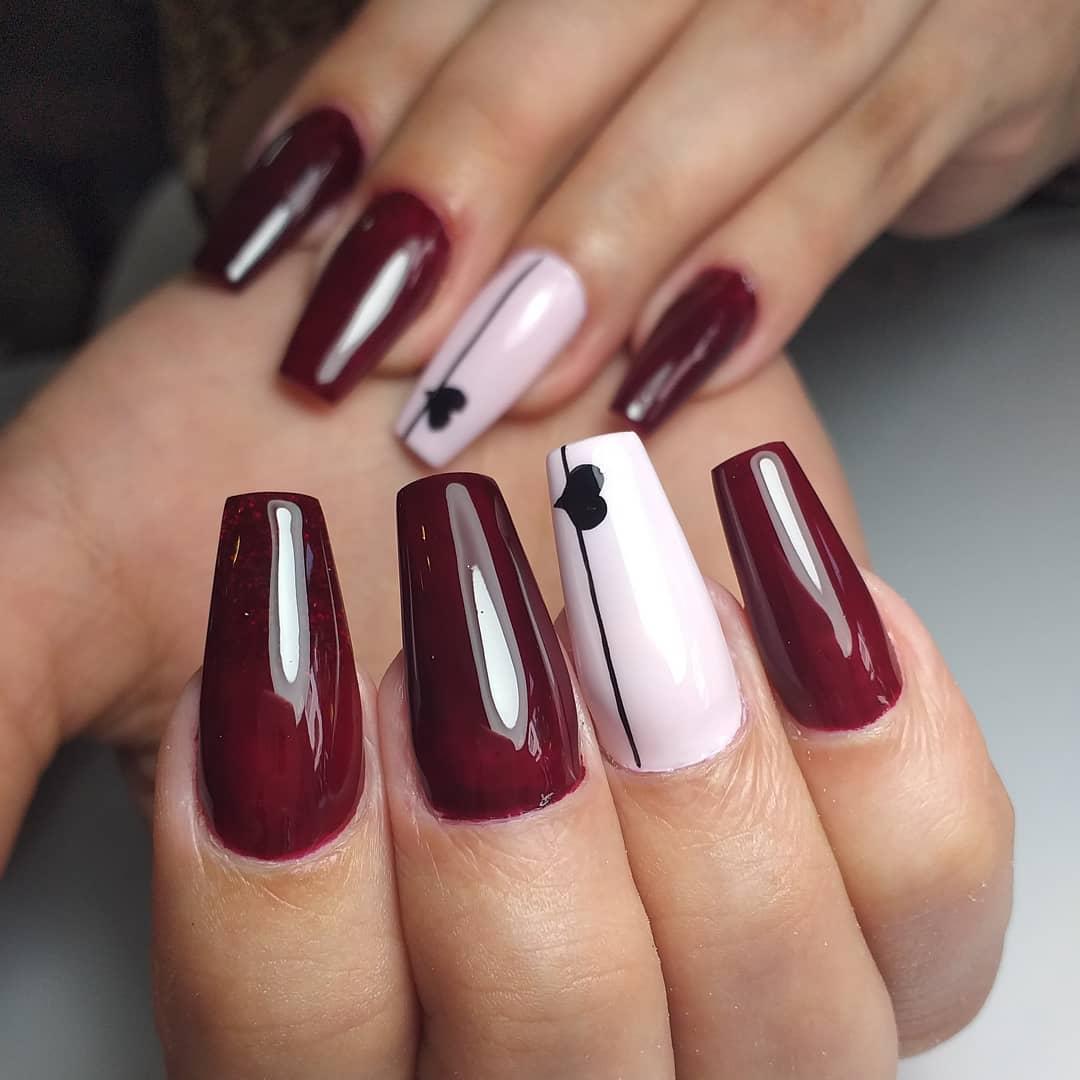 Simplicidade e elegância . # decoraciondeuñas # nails4today # uñass #lovenails #nails ...