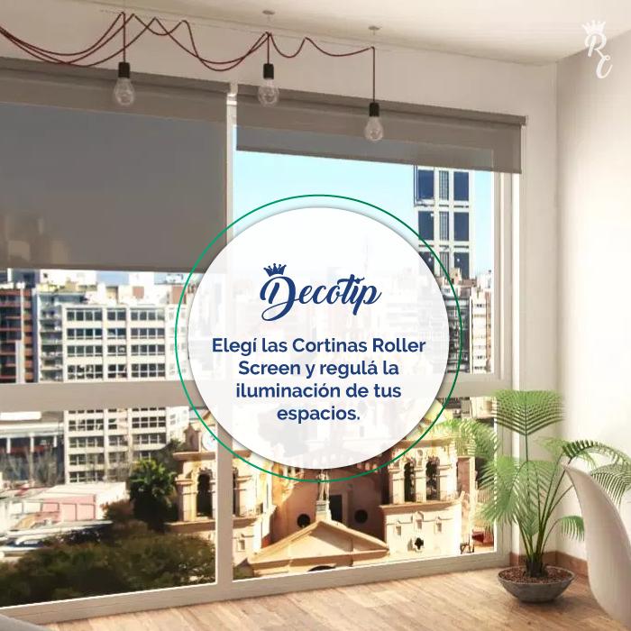 Tão importante é a iluminação, com nossas cortinas Roller Screen você pode ...