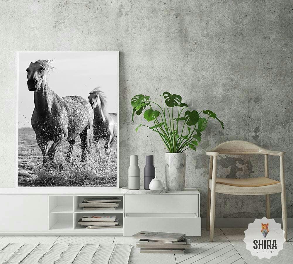 Cuadro ◇ wιld нorѕeѕ ◇   Tienda online: www.shiraobjetos.com > Animales [Link Bi...