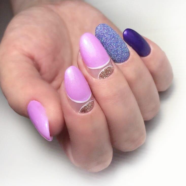 Manicure da STYLISH. Como você gosta dessa manicure? Eu realmente gosto disso! Moda e brilhante pr ...