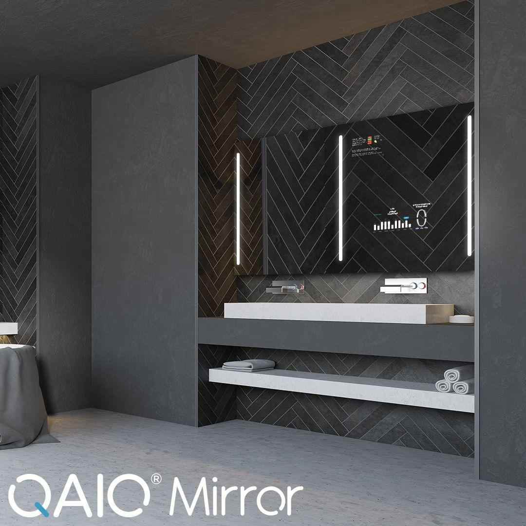Prepare-se para o futuro com o espelho inteligente QAIO. O espelho inteligente Q ...