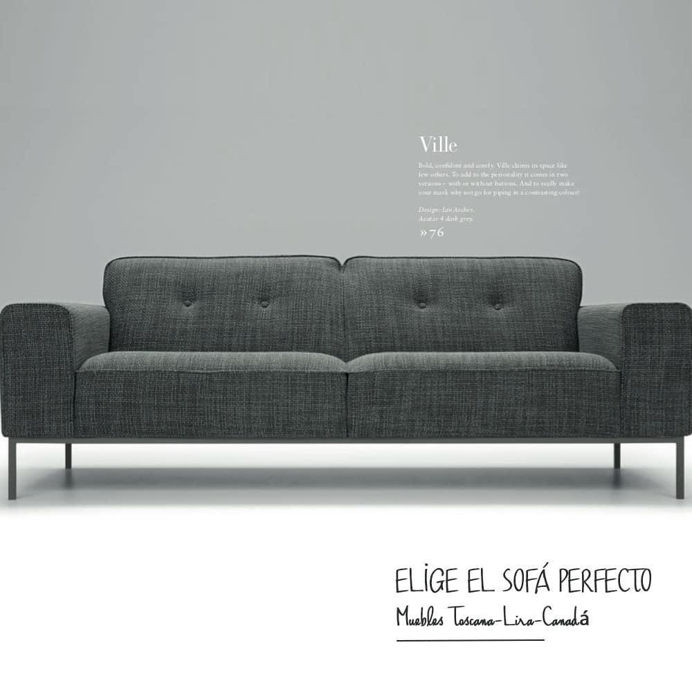 Sim, o SOF PERFEITO existe e você o projeta. De acordo com o seu estilo, espaço ou cor ...