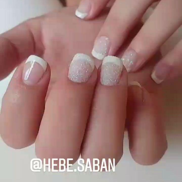 Com Mica nós amamos o efeito #sugar. . . Todos os meus trabalhos incluem manicure com t ...