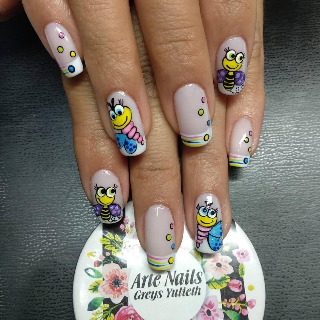 # uñashermosas # uñaslindas # artenails # unhas decoradas # uñashermosas # manicure # manicu ...