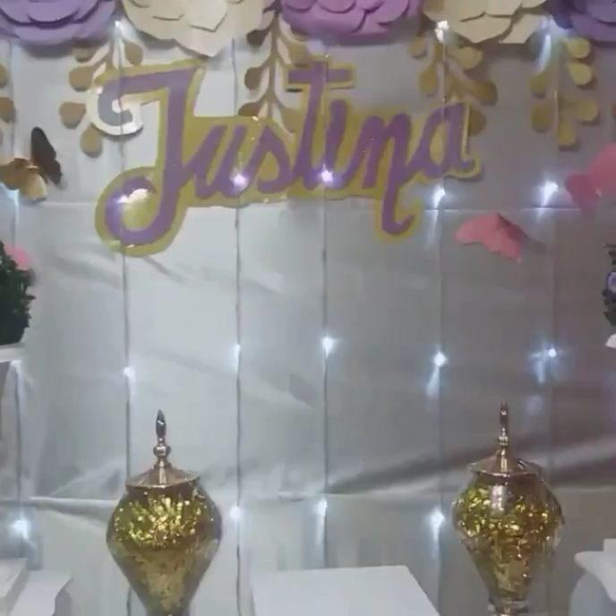 #felizdia # lady # decoração #flores # feliz aniversário ...