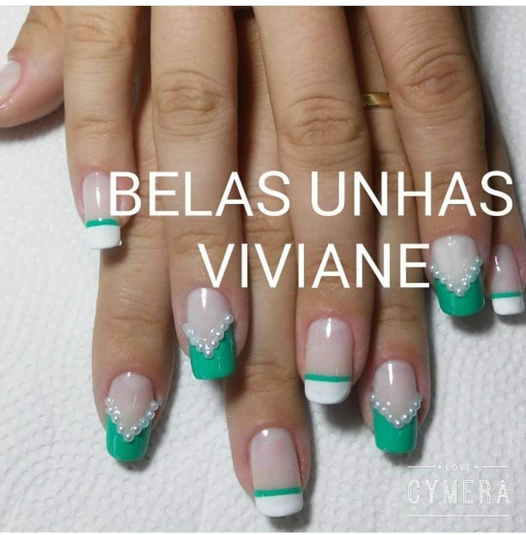 Quero ser esplêndida  @a_lineborges #vivibelasunhas #decoraciondeuñas #unhaeesma...