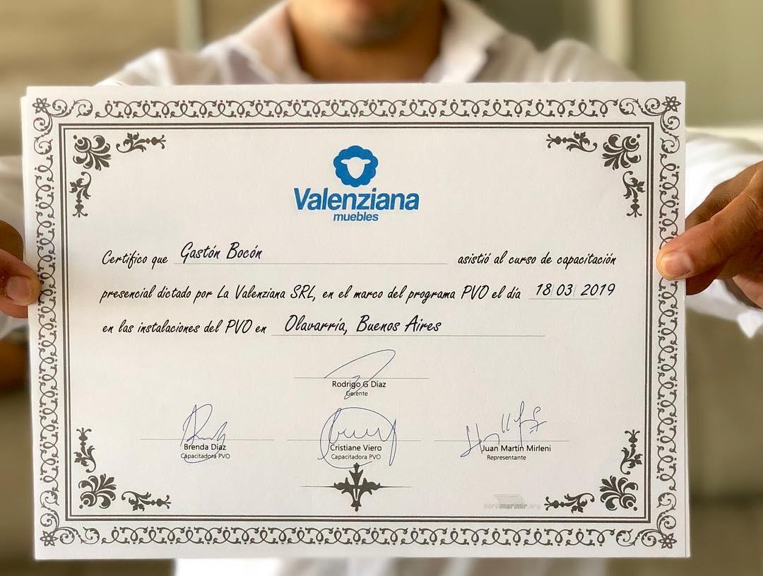 Postais do treinamento que recebemos ontem dos amigos de Valenzi ...