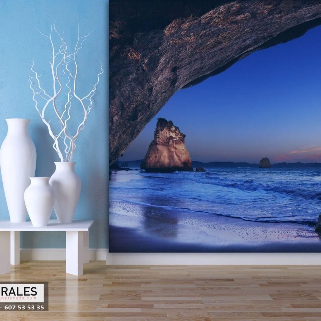 Integrar uma fotomural com o resto da casa, reforçará a harmonia e a energia da ...