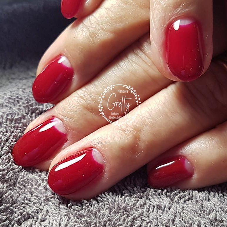 Zoom! # decoraciondeuñas #grettymanicura #gelnails #halfmoonnails # ideasdeuñas # ...