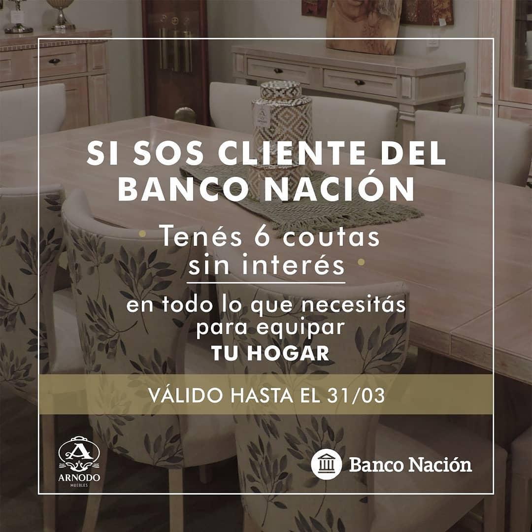 OPORTUNIDADE ÚNICA !!! Se você é cliente do BANCO NACIÓN, aproveite as 6 QUOTAS sem precisar ...