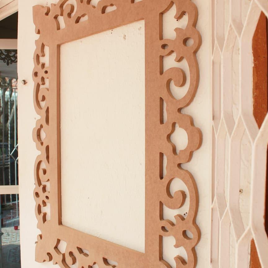 Moldura de Espelho 80x103cm #marcoespejo #mirror #marco #mirror #frame #framemirro ...