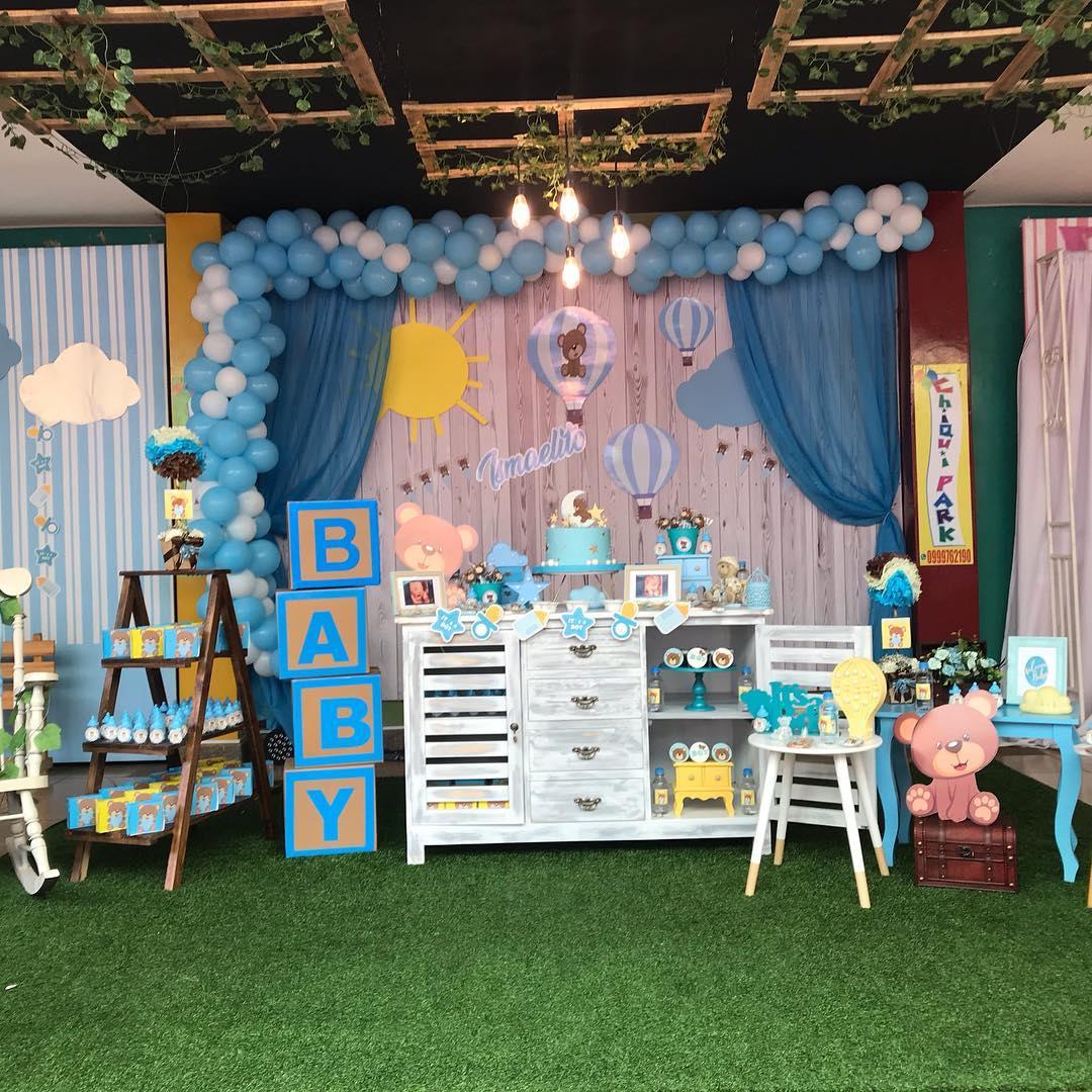 O # tema para # decoração do #babyshower escolhido pelos #ismael daddies ...