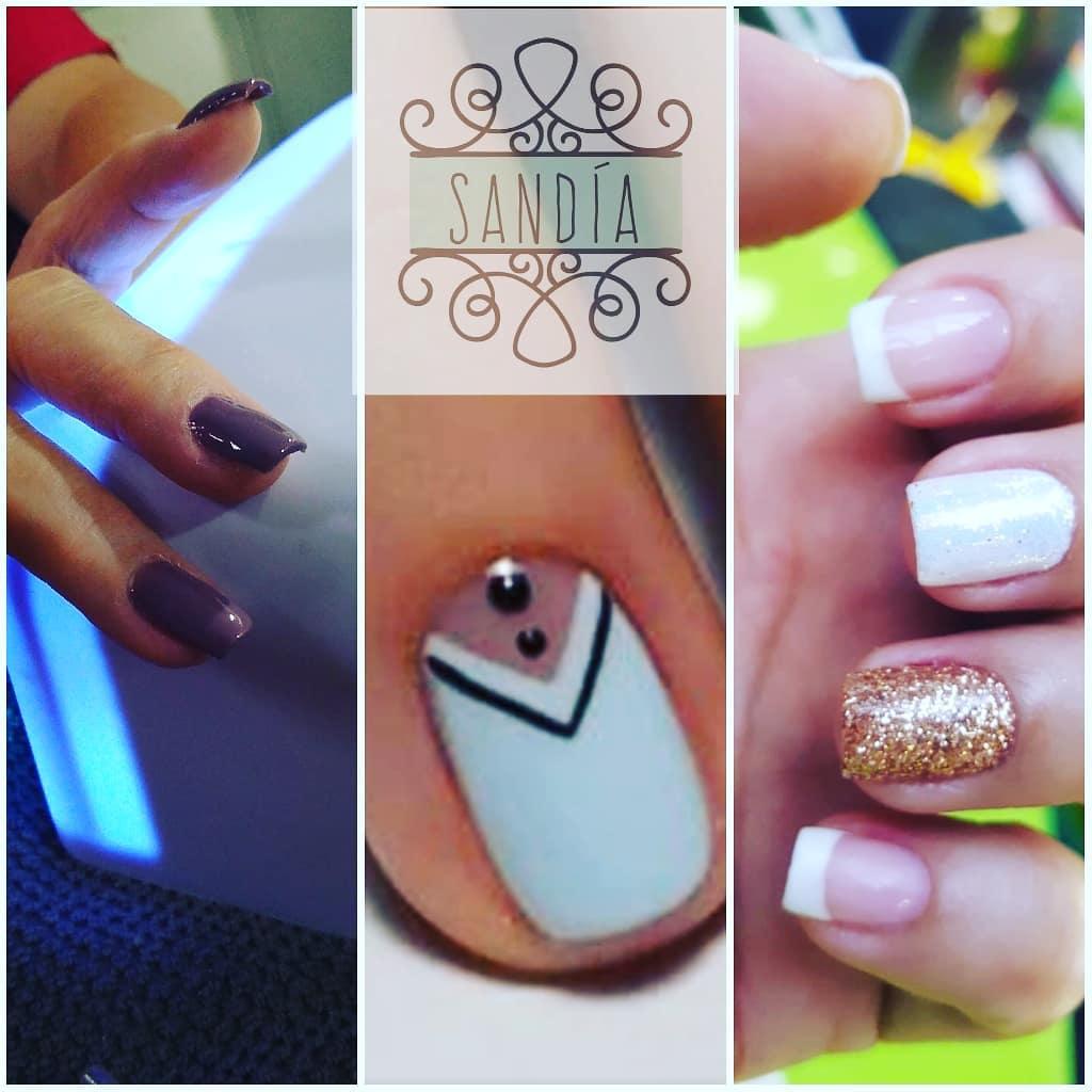 Maquiagem semi-permanente #maquillajesemipermanente #gliters # decoraciondeuñas ...