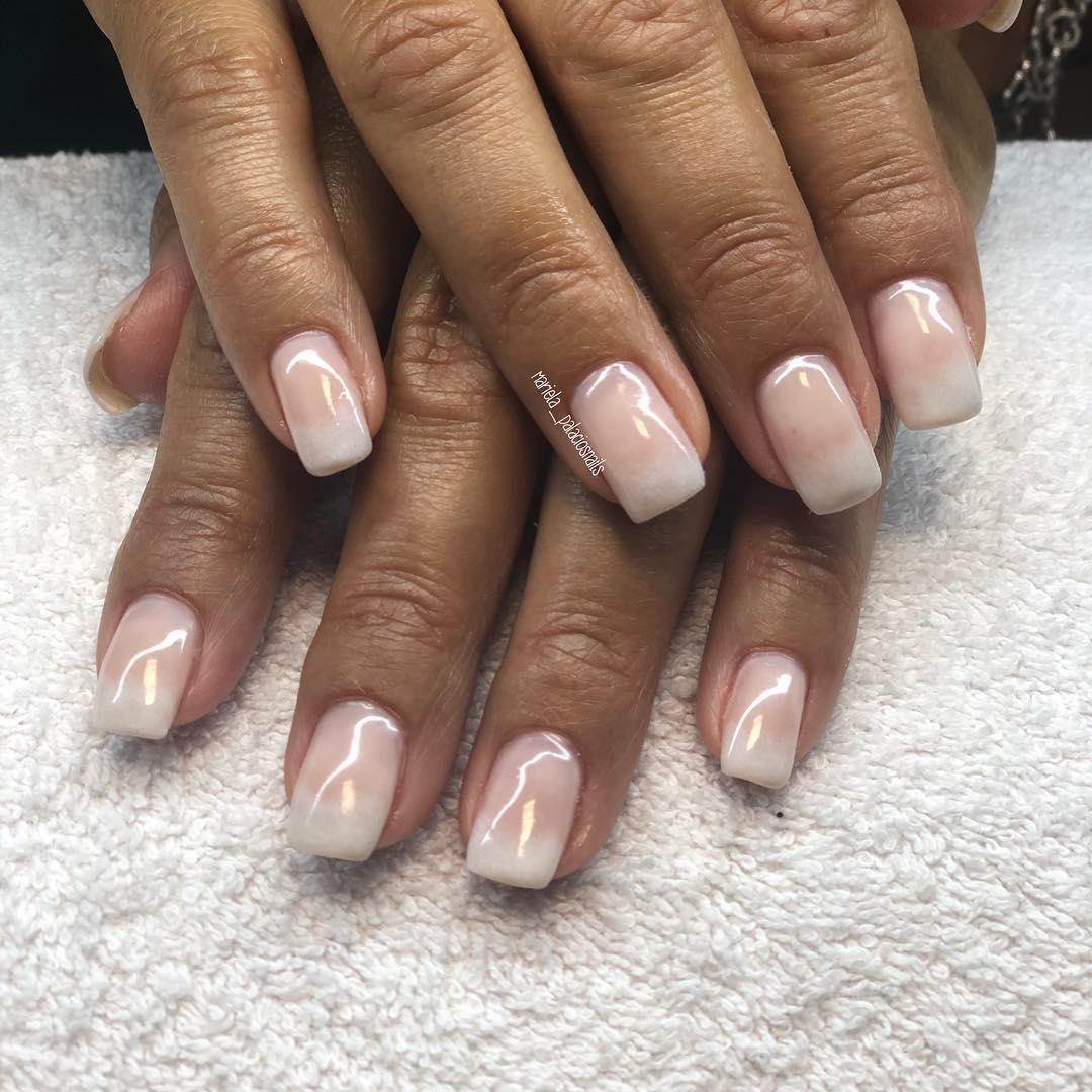 Baby boomer! Acabado de terminar. . . #nails #nails #nailsart # nails #naildesign # ...