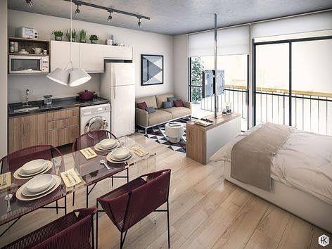 Você está prestes a entrar em um apartamento estilo loft e você não tem idéia de como ...