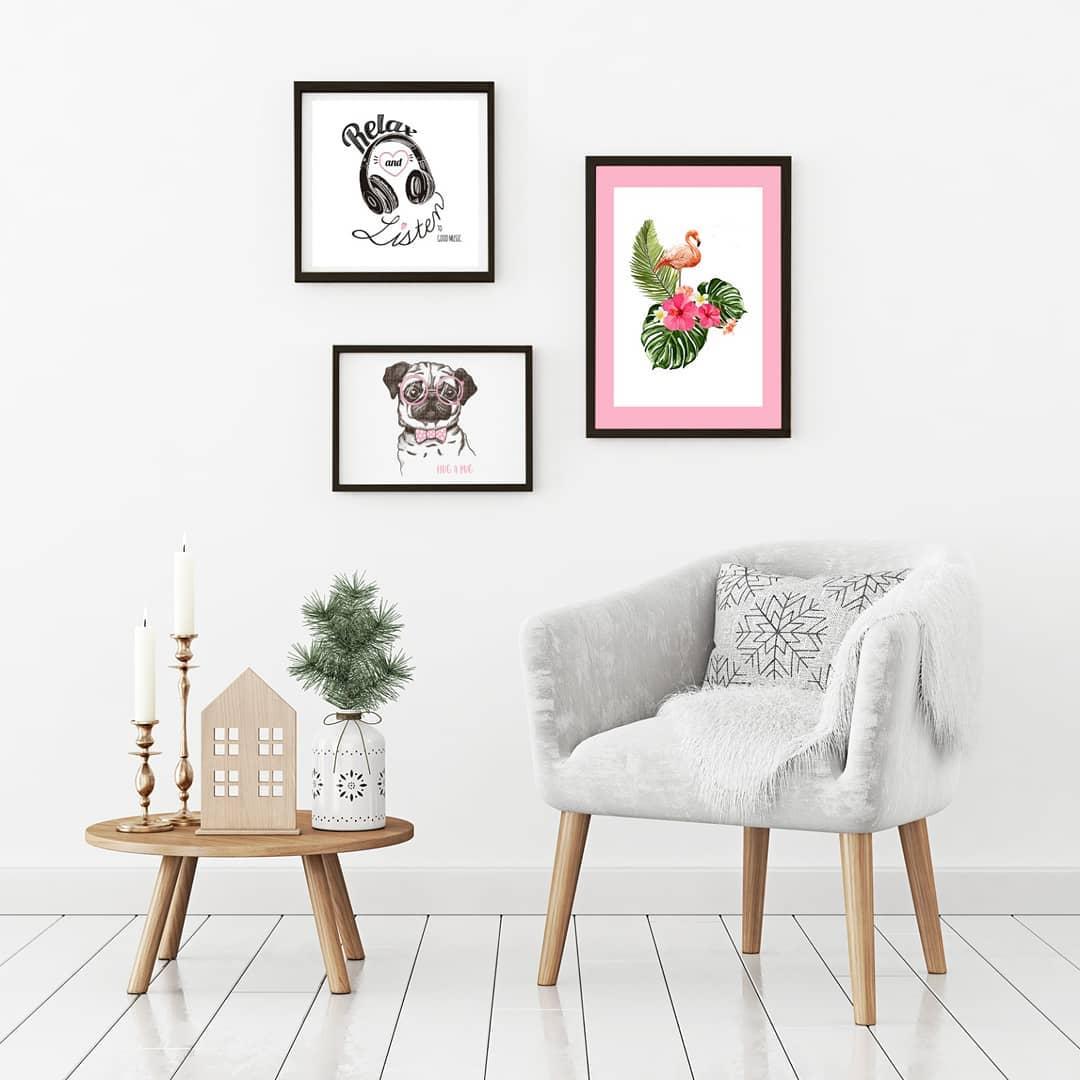 As pinturas são um elemento básico para a decoração de uma casa. Em #VisualDre ...