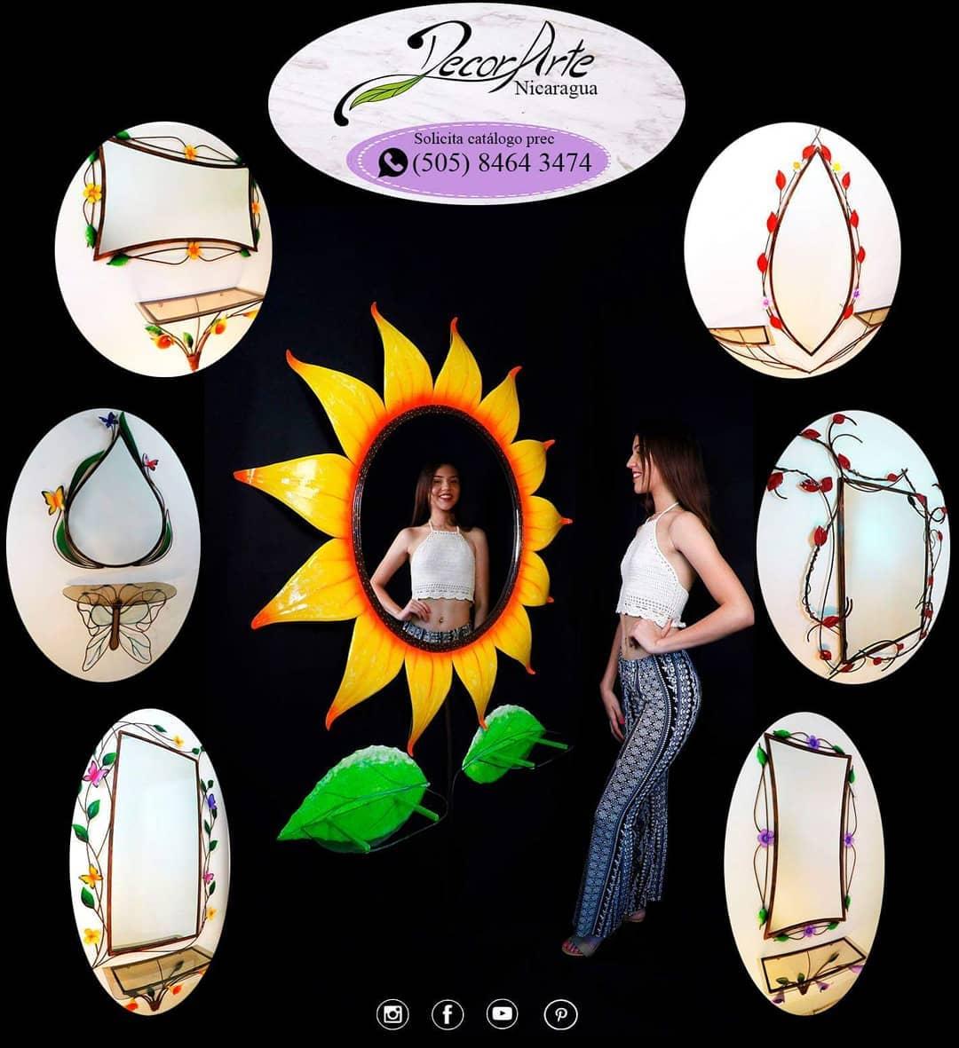 Qual é o teu favorito?  Siga-nos @decorartenicaragua #mirror #mirrors #design #d ...