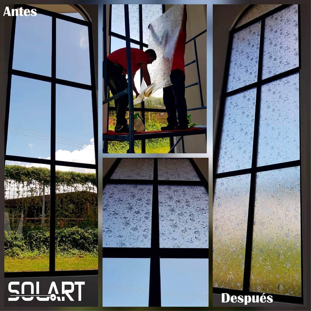 Design Decorativo  #sandblasting #vinilosdecorativos #windowfilms #logo #vidrios ...