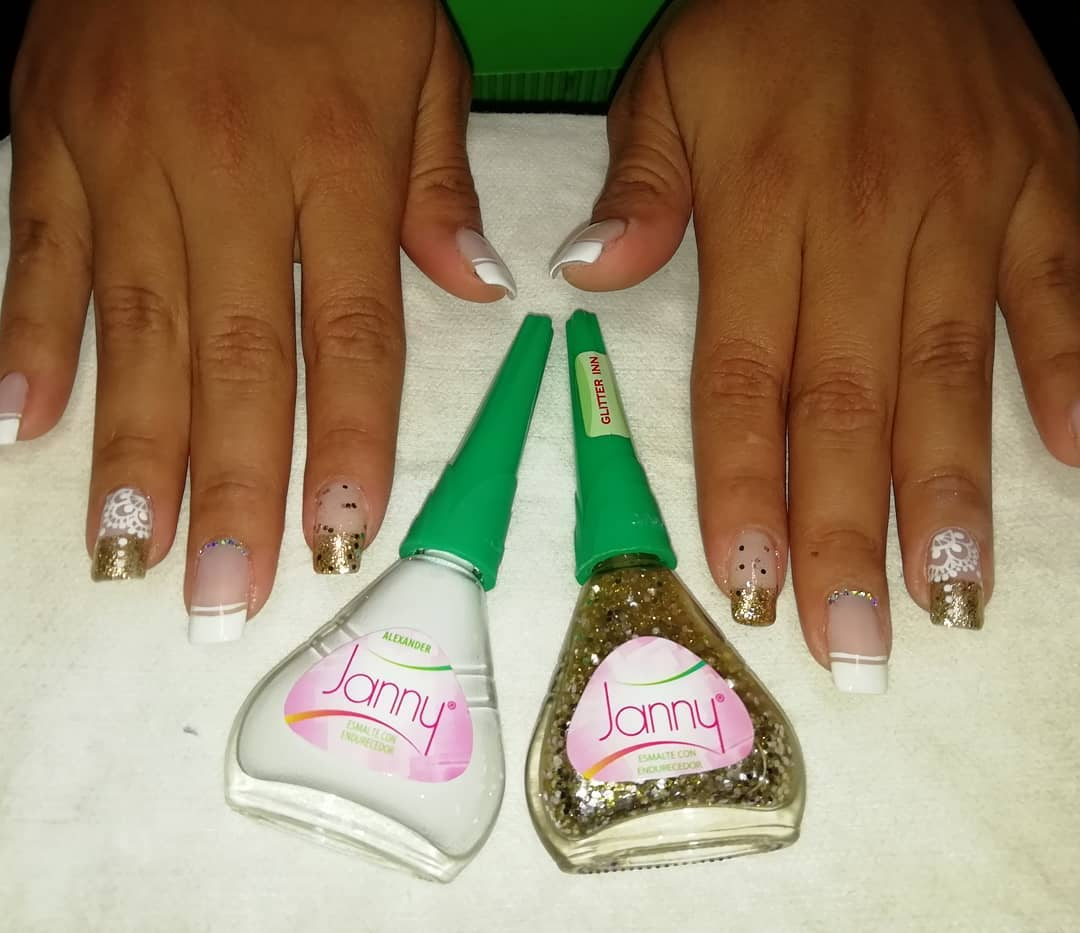 #jannycosmeticos #nailsart # decoraciondeuñas # unhas #french ...