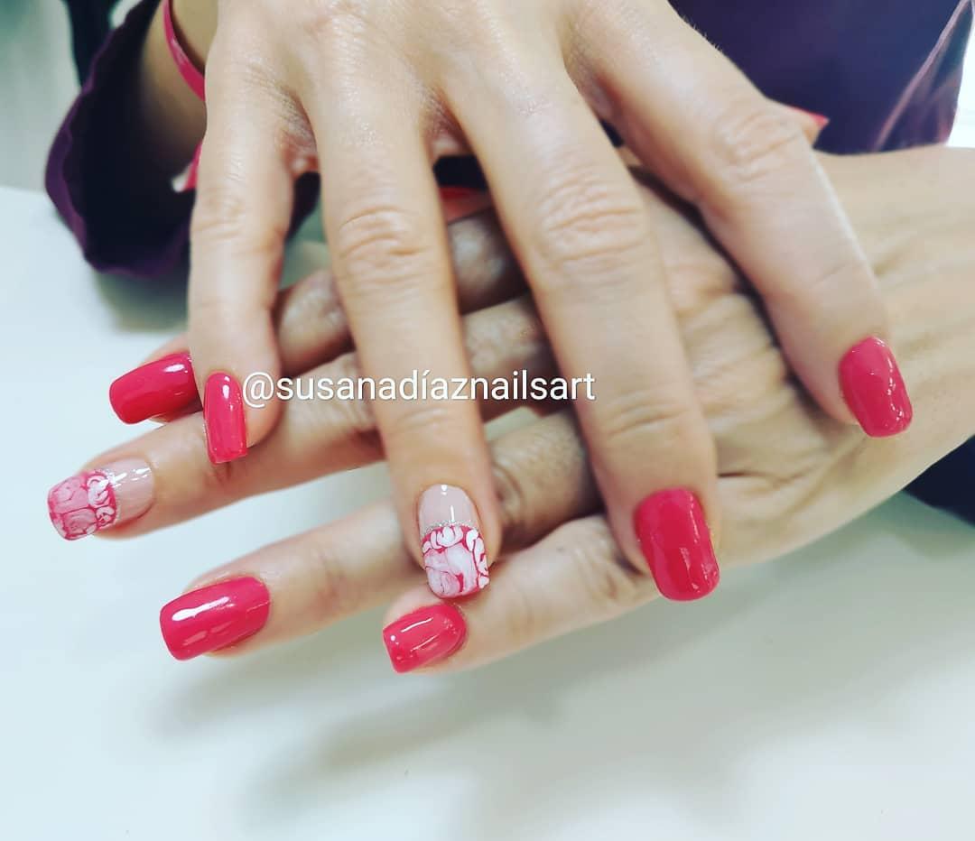Mudança de design. . . #roses #base #cover #flexible #nikannagel # decoração #s ...