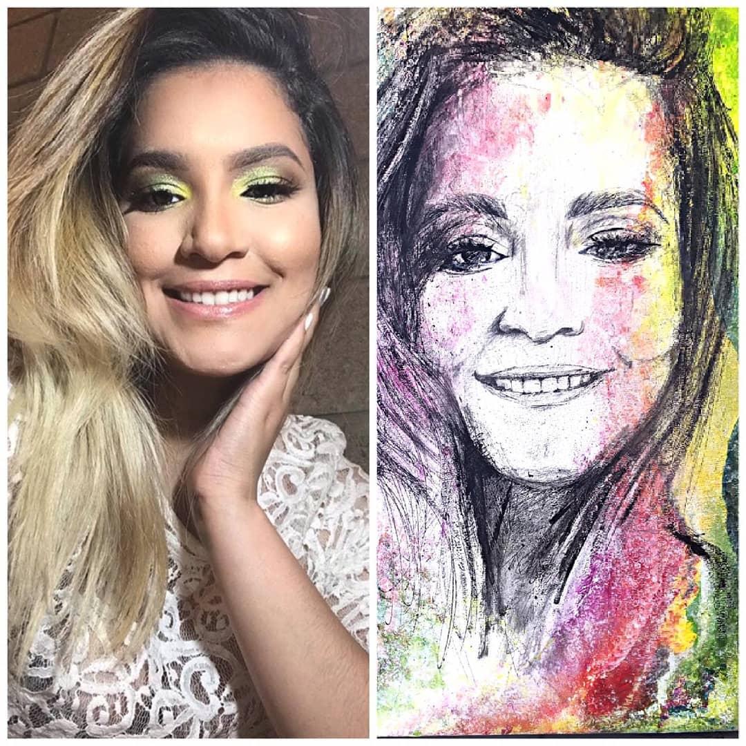 Eu amo a arte e as emoções que você leva. #retrato #pintura #cuadro #galer ...