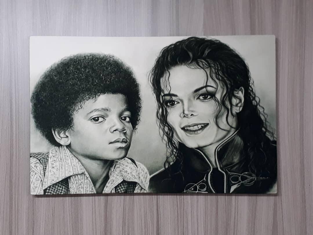 Michael Jackson Mede 40x60 Pedidos e citações 3193922822 Embarques no nível ...