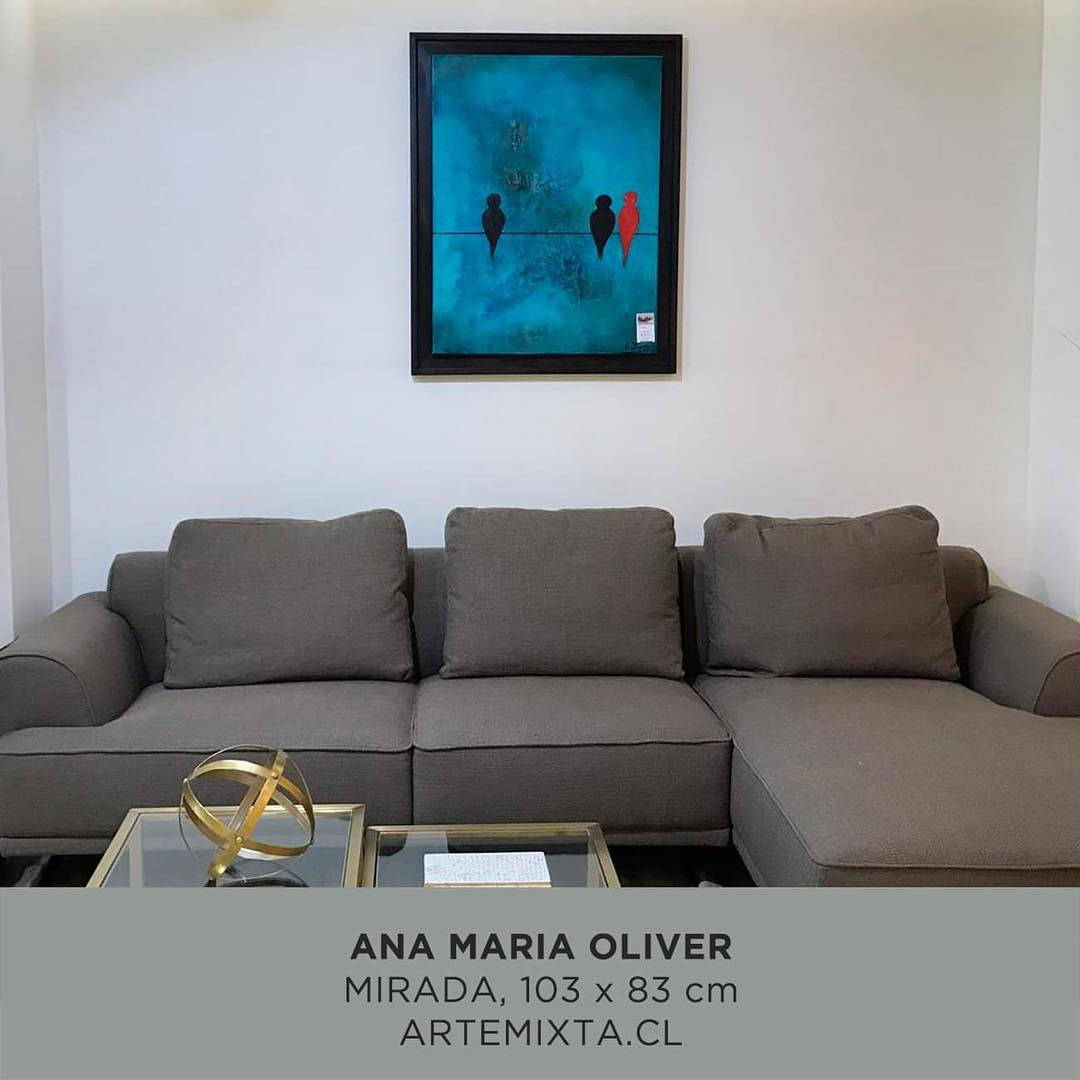 Obra de Ana María Oliver - Disponível em Rosen Alto Las Condes - Contato +56 ...
