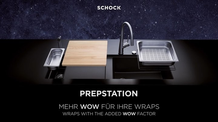 Máquina de lavar loiça SCHOCK Prepstation D-150 Cristadur ®, o equipamento perfeito para ...