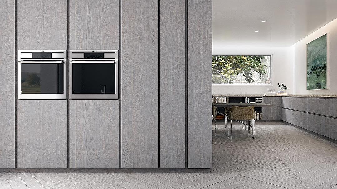 Nossas cozinhas com frentes em madeira maciça de carvalho com uma infinidade de acabamentos # ...