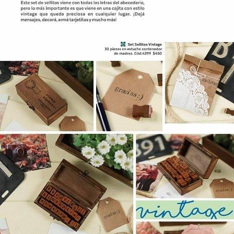 Vendedores do vintage! Ele vem com todas as letras do alfabeto em uma caixa elegante ...