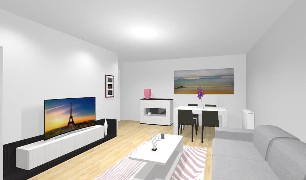 nós fazemos o projeto da sua sala e do seu quarto  #projeto #salon #decoracion ...