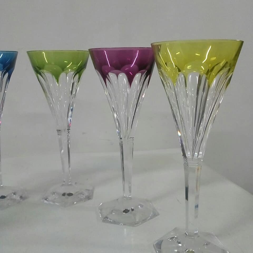 Cristal St. Lambert  Altura: 20 cm  #copes #crystal #valslambert # decoração ...