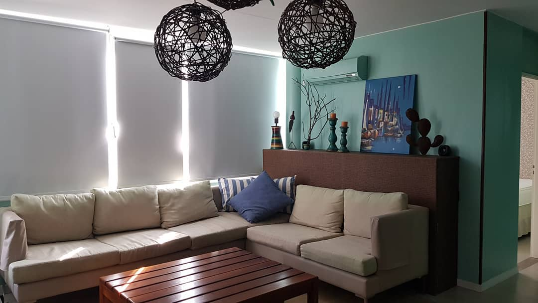 Dpto. Centro Pinamar, cortinas Roller Blackuot  #deco # decoration # decorationdei ...