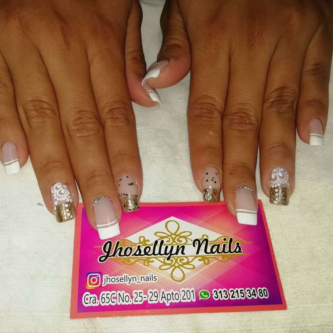 #nailsart # decoraciondeuñas # unhas #nails # uñaslindas #frances ...