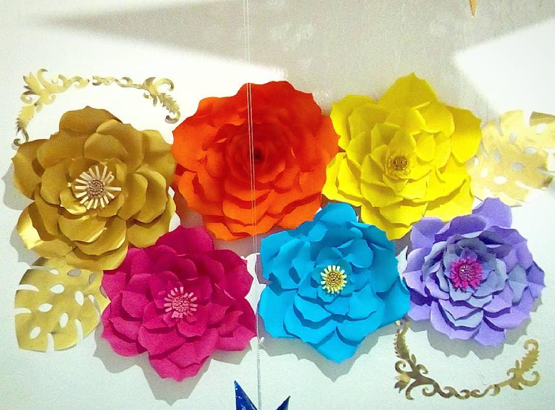 Arranjos florais de papel para festas, quartos, escritórios e muito mais no melhor ...