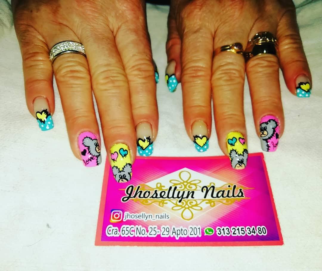 # nails # decoraciondeuñas #nailsart #nails # uñasladas ...