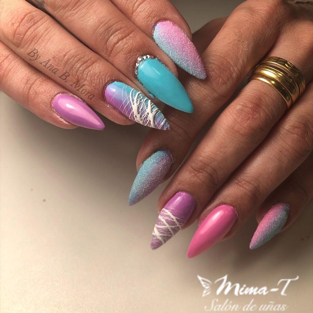 #mimat #manicure #manicure #gelpolish # salondeuñas #nailsalon # unhas # prego # prego ...