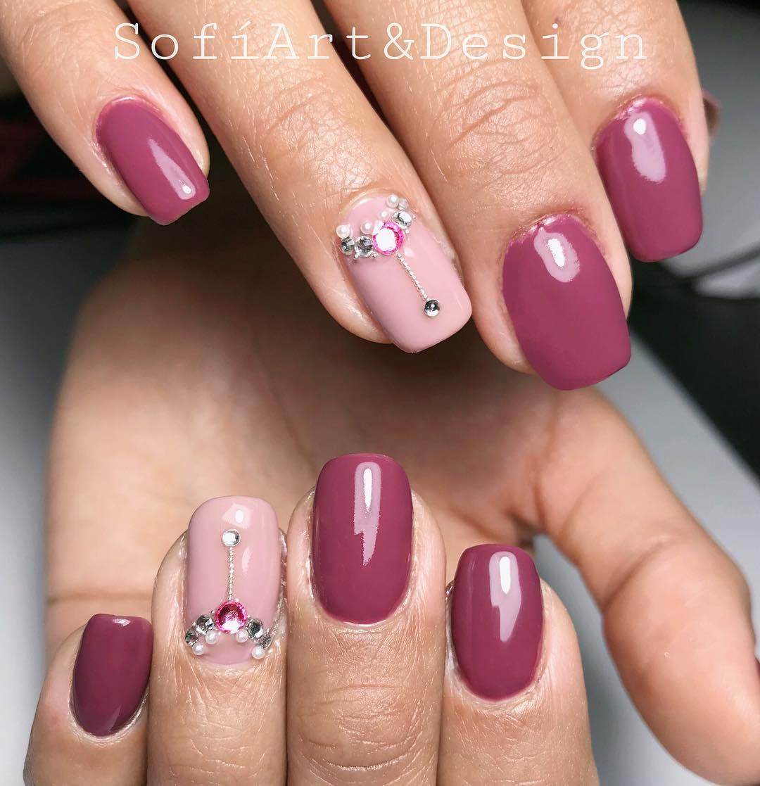 Mas como você gosta dessa cor #sofiartanddesign # unhas # unhas semi-permanentes # unhas ...