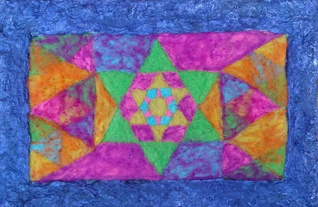 Velo em tela 20x30 Disponível  #vellon #art #art #plot #colors #hechoa ...