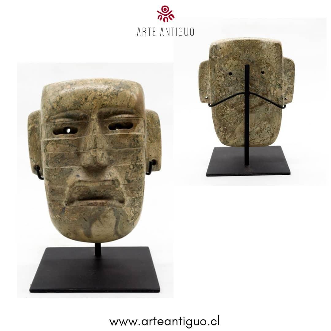 Este tipo de máscara de pedra usava magia religiosa e ritual ...
