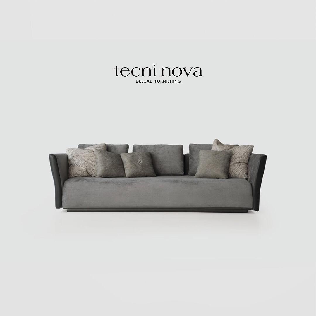 • O modelo 1742 é um sofá compostável e envolvente que abriga almofadas macias ...