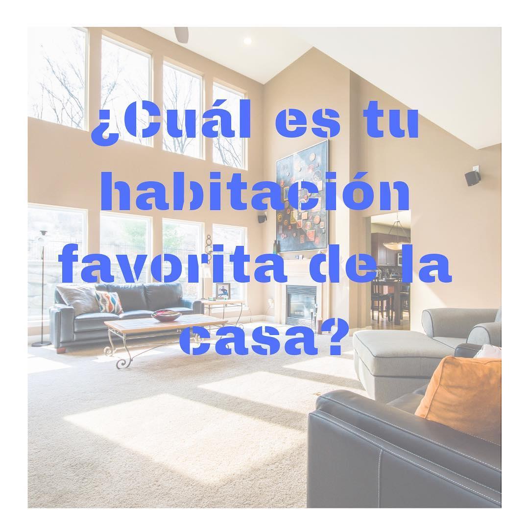 Qual é o quarto favorito da sua # casa? O #dormitorio, o # salon, o #coci ...